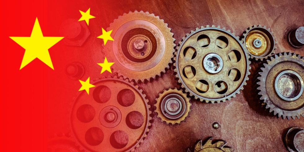 "China wird laut VDMA 2020 erstmals ""Exportweltmeister"". Bild: PantherMedia/GrinPhoto"