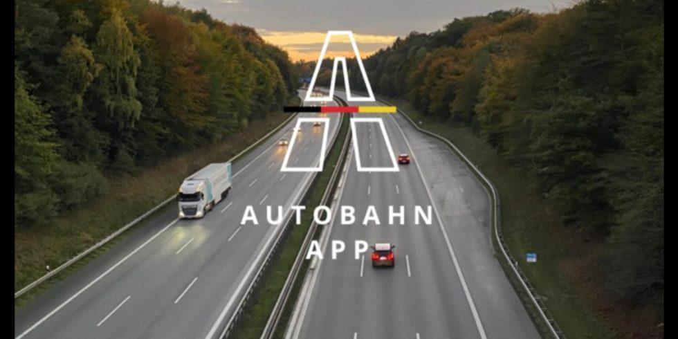 Screenshot Autobahn-App