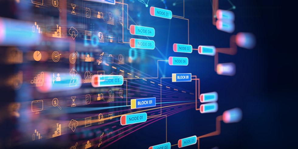 Abbildung Chains Blockchain Ketten