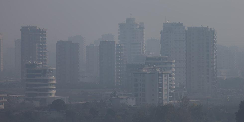 Smog Stadt