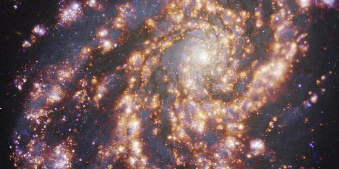 Aufnahme ESO Galaxie NGC 4254