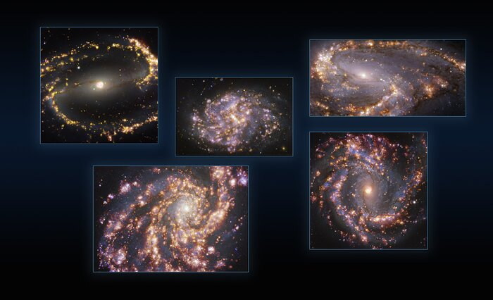 Fünf Galaxien