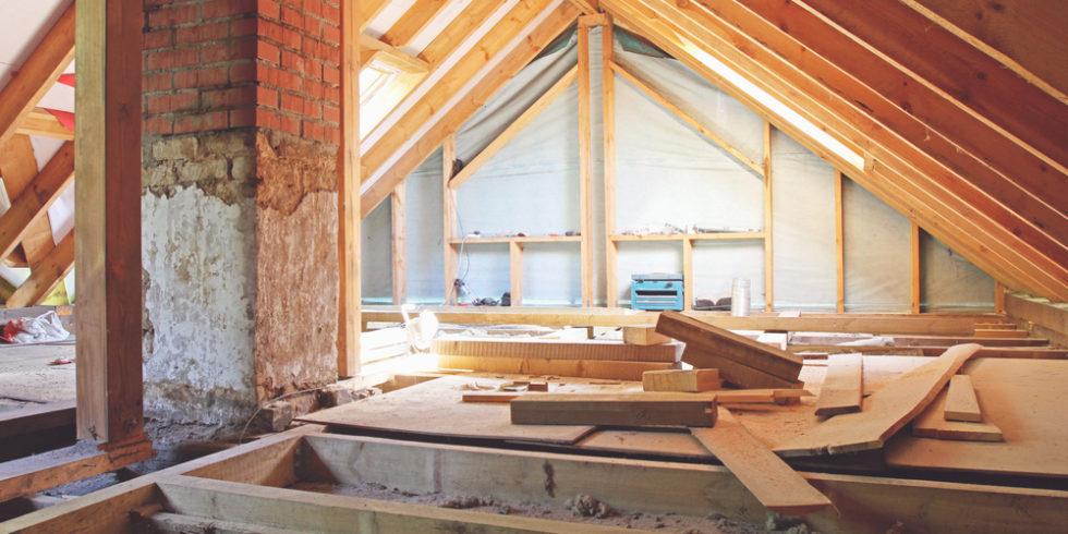 Holz Dach