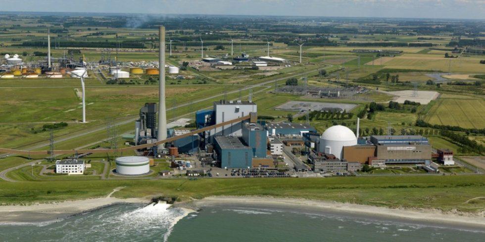Das Kernkraftwerk Borssele in den Niederlanden ist seit 1973 in Betrieb und soll noch bis 2034 laufen. Es leistet 515 MW. Foto: N.V. Elektriciteits-Produktiemaatschappij Zuid-Nederland EPZ