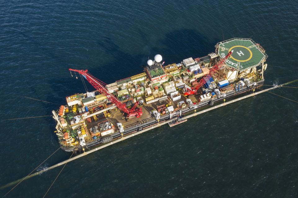Verlegung Pipeline vor Greifswald