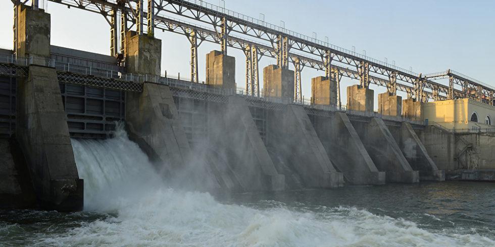 Wasserkraftwerk an der Moldua