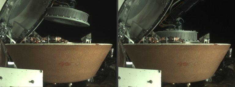 Die Sonde Osiris Rex bei der Probenentnahme. Der Astroid ist im Fokus der Nasa-Forschenden – auch weil er Hinweise auf den Ursprung unseres Sonnensystems liefern könnte. Foto: Nasa