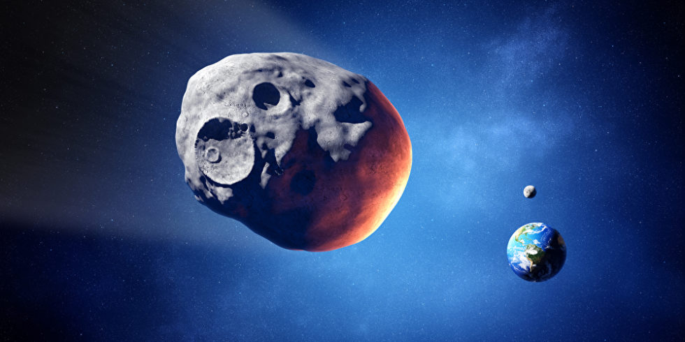 1,4 Kilometer groß ist der Asteroid, der im August der Erde extrem nah kommt. Foto (Symbolbild): panthermedia.net/Johanswanepoel