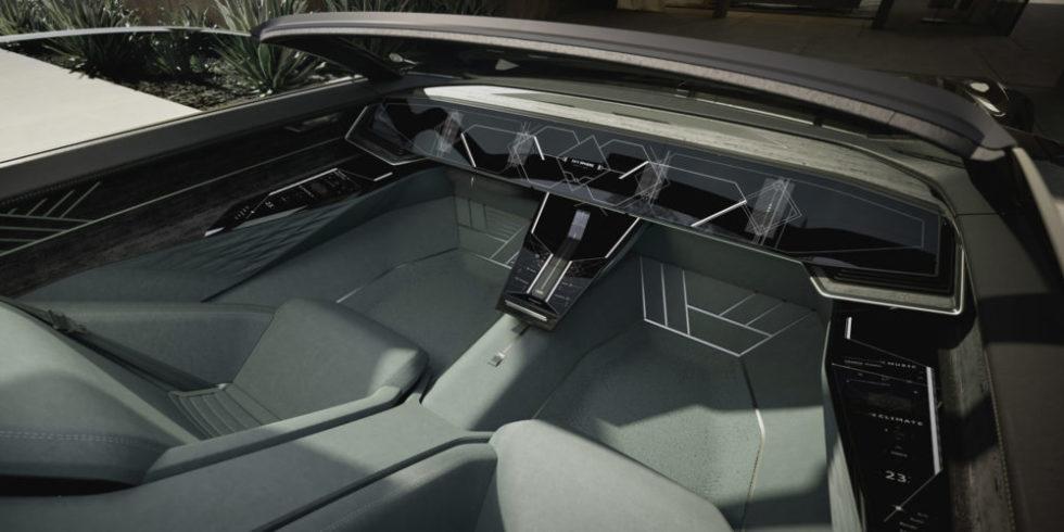 Interieur des neuen Audi Konzept-Autos
