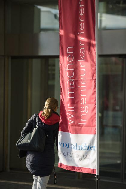 Karriere voran bringen auf dem VDI nachrichten Recruiting Tag in Dortmund. Foto: Koester Fotografie