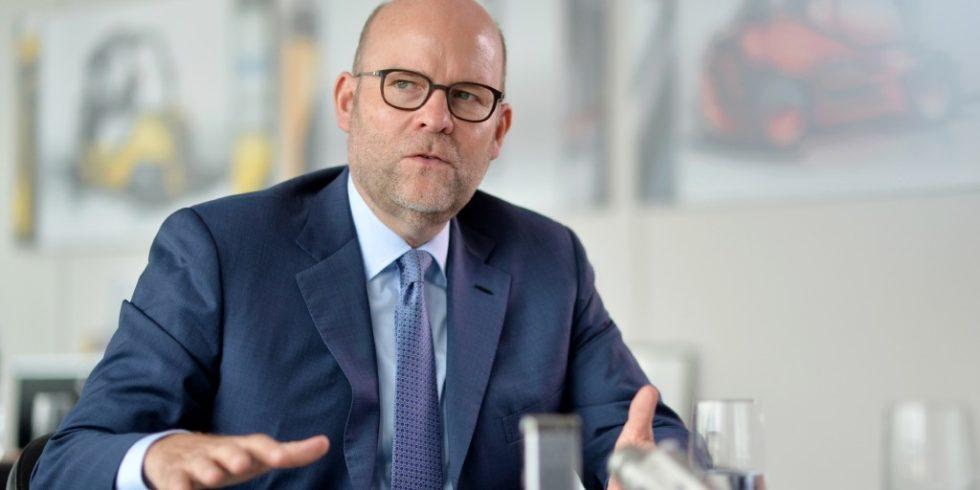 Gordon Riske, Vorsitzender des Vorstands der Kion Group AG. Foto: Kiongroup/Oliver Lang