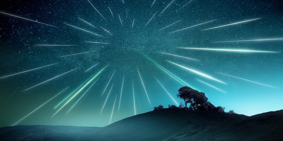 Die Perseiden könnten in diesem Jahr als besonders spektakuläre Sternschnuppen zu sehen sein. Foto: Panthermedia.net/solarseven