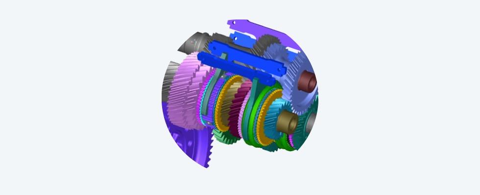 Abbildung 1: Wälzlager als zentrales Maschinenelement in vielen Baugruppen der Automation und Antriebstechnik Foto: Ansys, Inc.