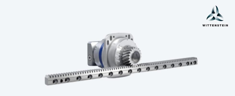 Abbildung 2: Ritzel-Zahnstangen-Getriebesystem Foto: Wittenstein SE