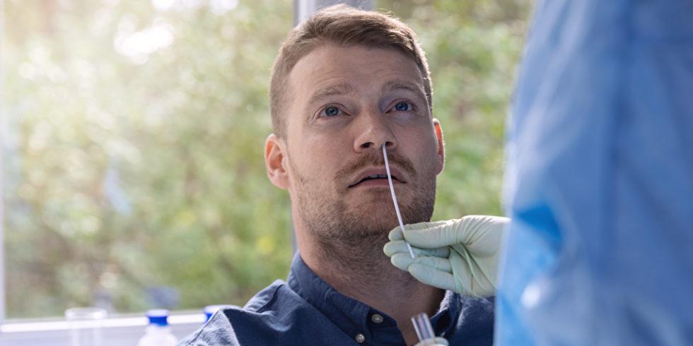 Mann Corona Test nasal