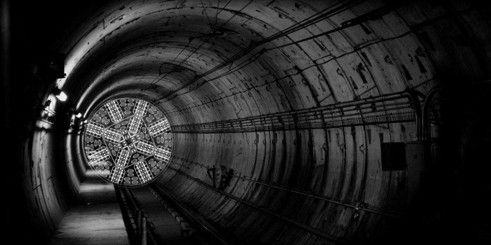 """Mit einem neuen Tunnelroboter hat es das Team von Swissloop Tunneling in die Endrunde der """"Not-A-Boring-Competition"""" von Elon Musk geschafft – als eines von zwölf Teams aus fast 400 Bewerbern. Foto: Dopag / Swissloop Tunneling"""