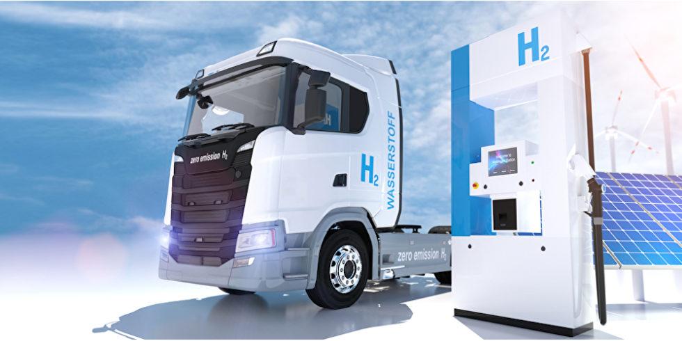 Wasserstoff-Lkw