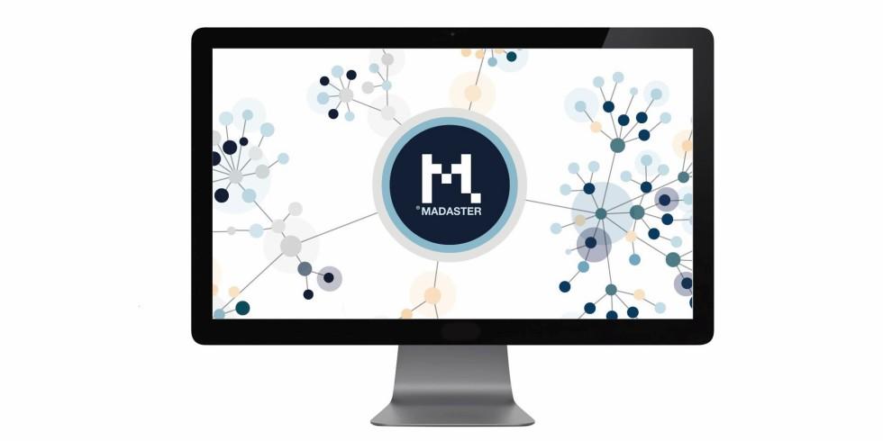 """Das """"Materialien-Kataster"""" Madaster ist eine 2017 gegründete Online-Plattform für Materialien, die Transparenz über Materialwerte schaffen und so den zirkulären Einsatz von Produkten und Materialien in der Bauwirtschaft ermöglichen soll. Grafik: Madaster"""