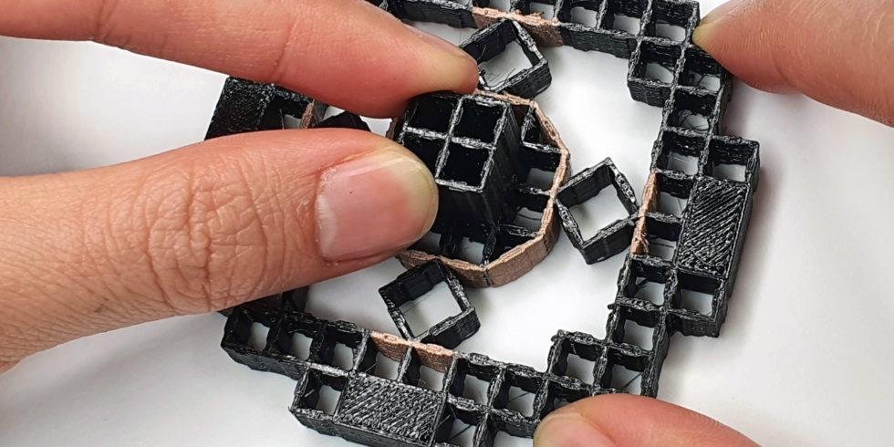 Intelligente Strukturen per 3D-Druck