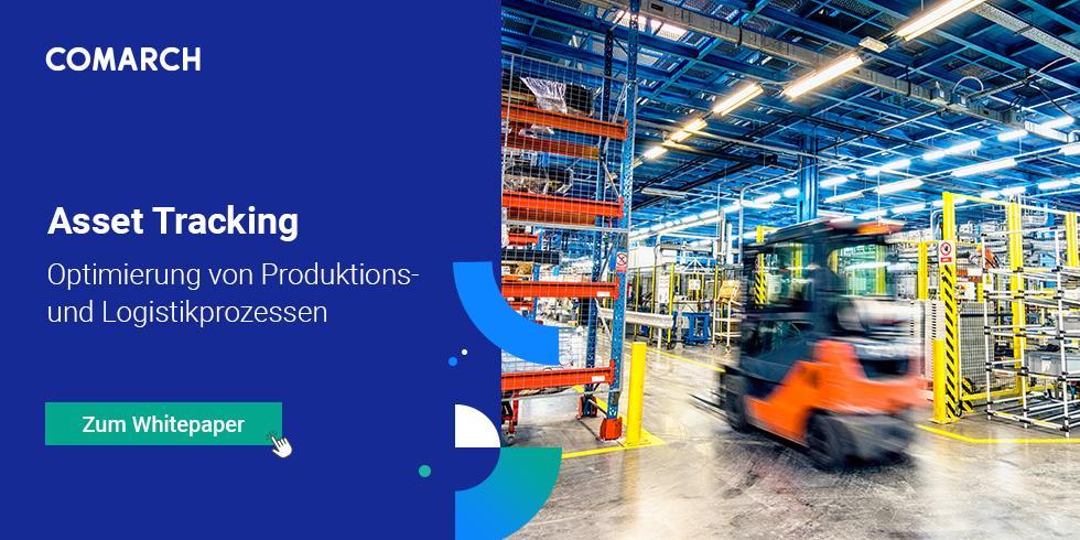 Whitepaper: Optimierung von Produktions- und Logistikprozessen mit Asset Tracking. Foto: Comarch AG
