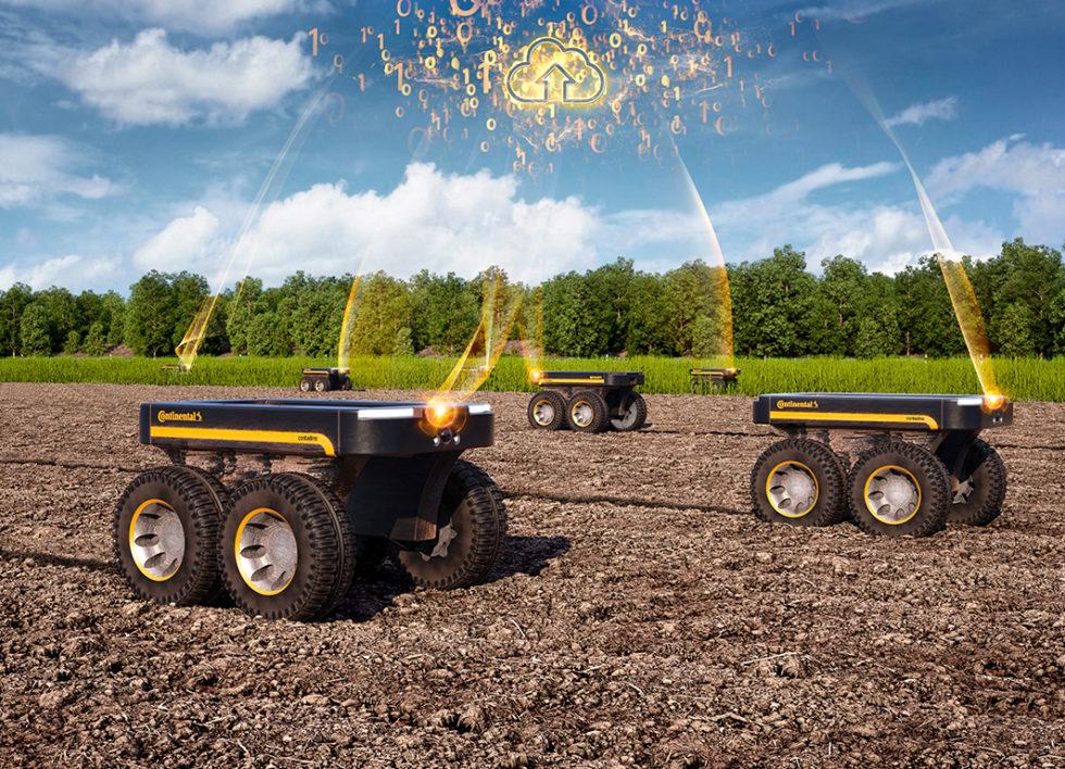 Continental: Wie Roboter Logistik und Landwirtschaft revolutionieren sollen