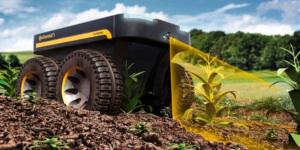 Autonomer Roboter für Landwirtschaft