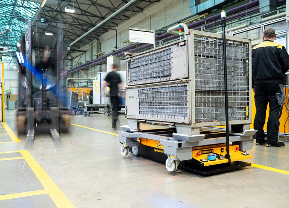 Autonomer Roboter für Logistikbranche