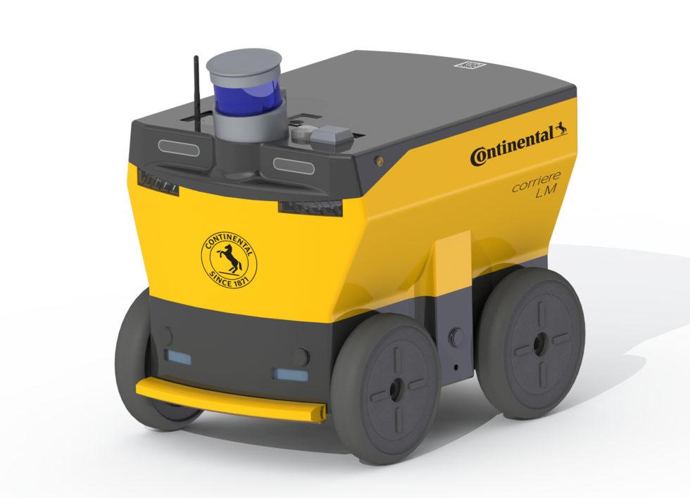 Autonomer Roboter von Continental für letzte Meile