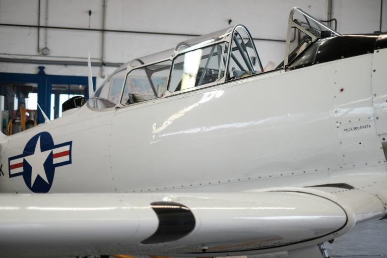 Die North American T-6. Foto: Peter Sieben