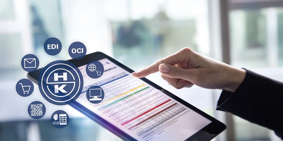 Um die Beschaffungsprozesse möglichst schlank und effizient zu gestalten, investiert HAHN+KOLB konsequent in digitale Lösungen für die Industrie 4.0. Foto: HAHN+KOLB Werkzeuge GmbH