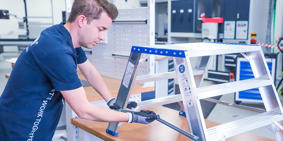 Praktische und anwenderfreundliche Verwaltung von Betriebsmitteln und Geräten ist mit HK-INSPECT möglich. Foto: HAHN+KOLB Werkzeuge GmbH