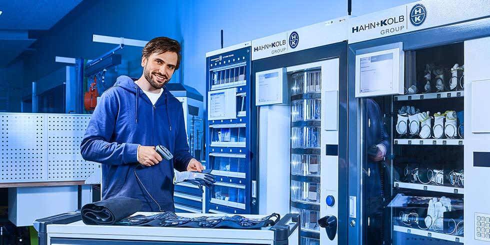 Wir bieten das volle Programm. Über 120.000 Werkzeuge für höchste Anforderungen. Foto: HAHN+KOLB Werkzeuge GmbH