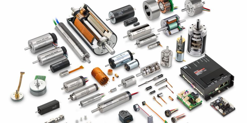 Bild 1Die Anforderungen an Encoder sind vielfältig. Dementsprechend groß ist die Auswahl an verschiedenen Ausführungen. Foto: maxon