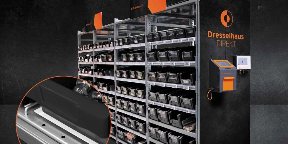 Die Modernisierung des RFID-Kanban-Angebotes unter der Marke Dresselhaus Direkt soll eine Optimierung des Kanban-Kreislaufs und ein ideales C-Teile-Management ermöglichen. Foto: Joseph Dresselhaus GmbH & Co. KG