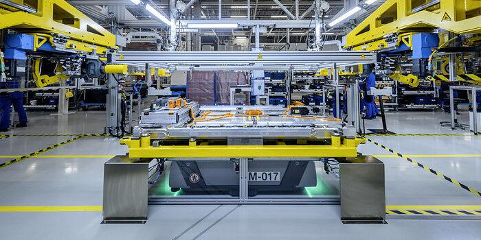 Einblick Batteriefabrik