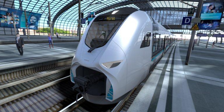 Auch der Mireo von Siemens fährt bei Bedarf mit Batterieantrieb. Foto: Siemens