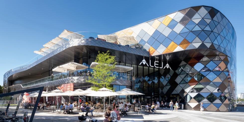 Die integrale Planung des Einkaufszentrums Aleja in der slowenischen Hauptstadt Ljubljana lag in denn Händen von ATP architekten ingenieure. Foto: ATP/Pierer