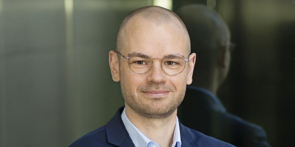 Tim-Oliver Müller, Geschäftsführer des Hauptverbands der Deutschen Bauindustrie e.V.  Foto: Bauindustrie / Simone M. Neumann