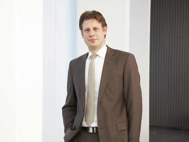Daniel Mund vom Startercenter Essen berät Unternehmens- und Existenzgründer. Foto: IHK zu Essen