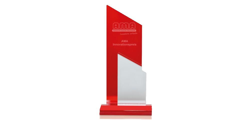 Der AMA Innovationspreis ist mit 10.000 Euro dotiert. Der Preis wird seit 22 Jahren an die Entwickler selbst verliehen und nicht an die Institutionen dahinter. Foto: Bernd Oertwig / AMA