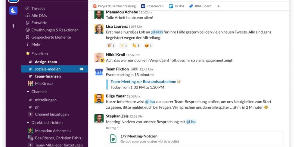 Zahlreiche Slack-Nutzer haben seit einiger Zeit mit Störungen des Messaging-Dienstes zu kämpfen. Foto: Slack
