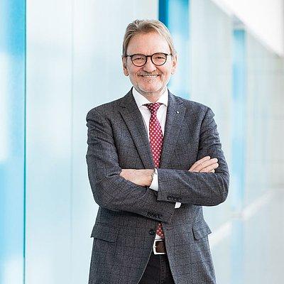 VDI Präsident Dr. Volker Kefer.<br />Foto: VDI / Catrin Moritz