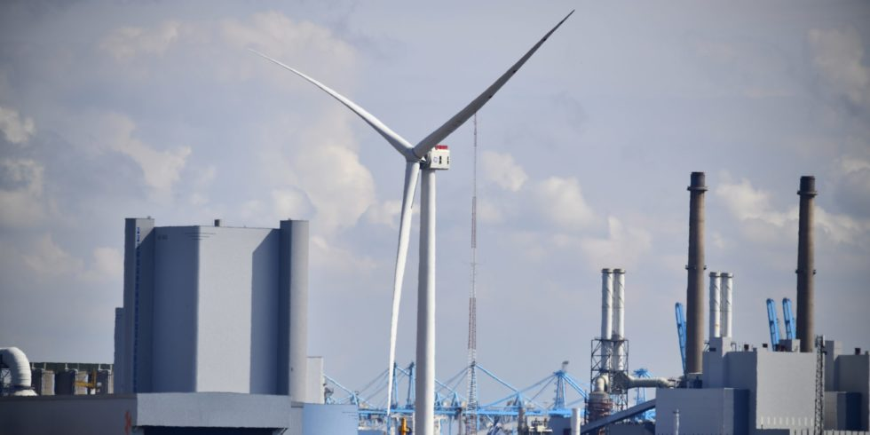 Der Haliade-X-Prototyp von GE läuft jetzt mit 14 MW. Foto: GE Renewable Energy